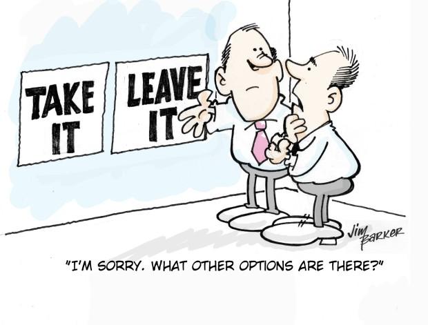Hobson's Choice (a Free Choice or No Choice at All?)   davidrohlfingblog