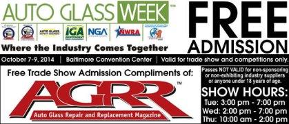 AGW 2014 Free Admission